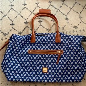 Dooney and Bourke Chicago Cubs duffle bag